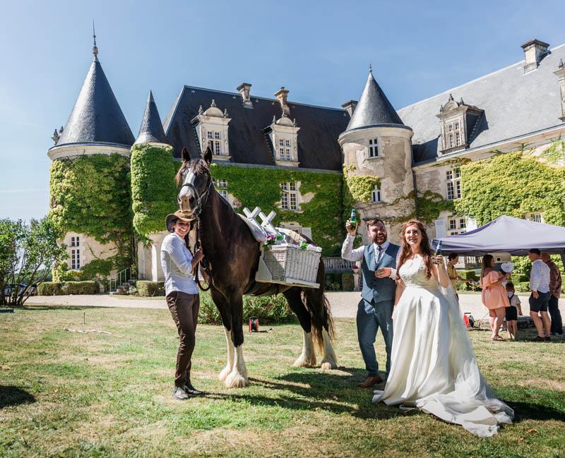 horses for weddings