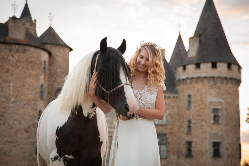 wedding horse for hire France