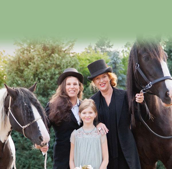 hire a wedding horse france